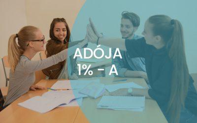 AZ ADÓ 1%-ÁNAK FELAJÁNLÁSÁRÓL