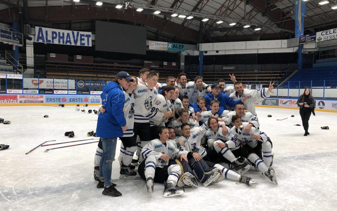 MAC Budapest nyerte a jégkorong ifjúsági bajnokság U-18-as döntőjét!